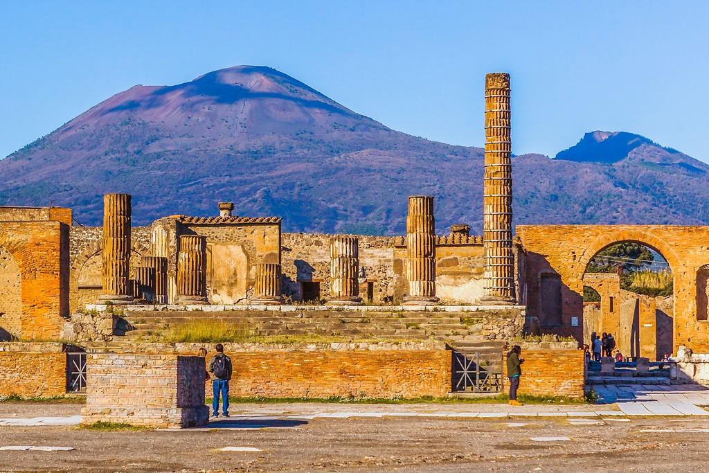 意大利一世纪古城庞贝,无声的述说_图1-2