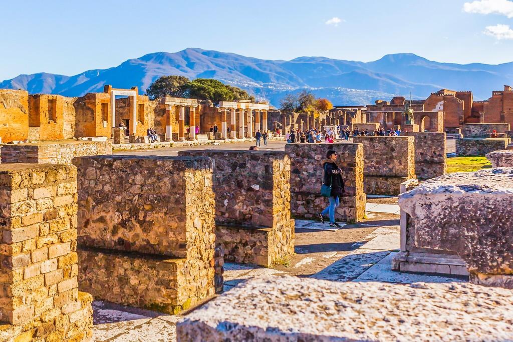 意大利一世纪古城庞贝,无声的述说_图1-6
