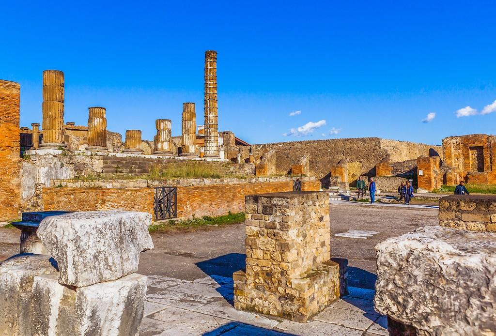 意大利一世纪古城庞贝,无声的述说_图1-8