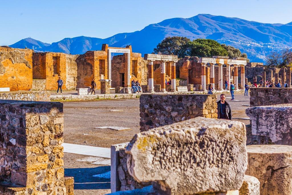 意大利一世纪古城庞贝,无声的述说_图1-7