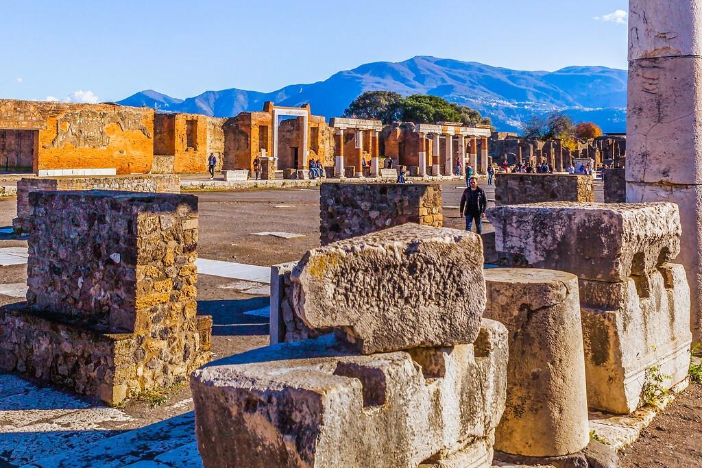 意大利一世纪古城庞贝,无声的述说_图1-4