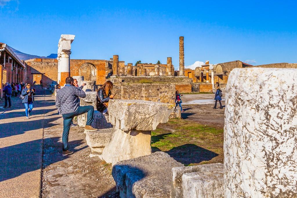 意大利一世纪古城庞贝,无声的述说_图1-5