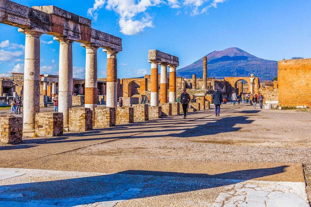 意大利一世纪古城庞贝,无声的述说_图1-10