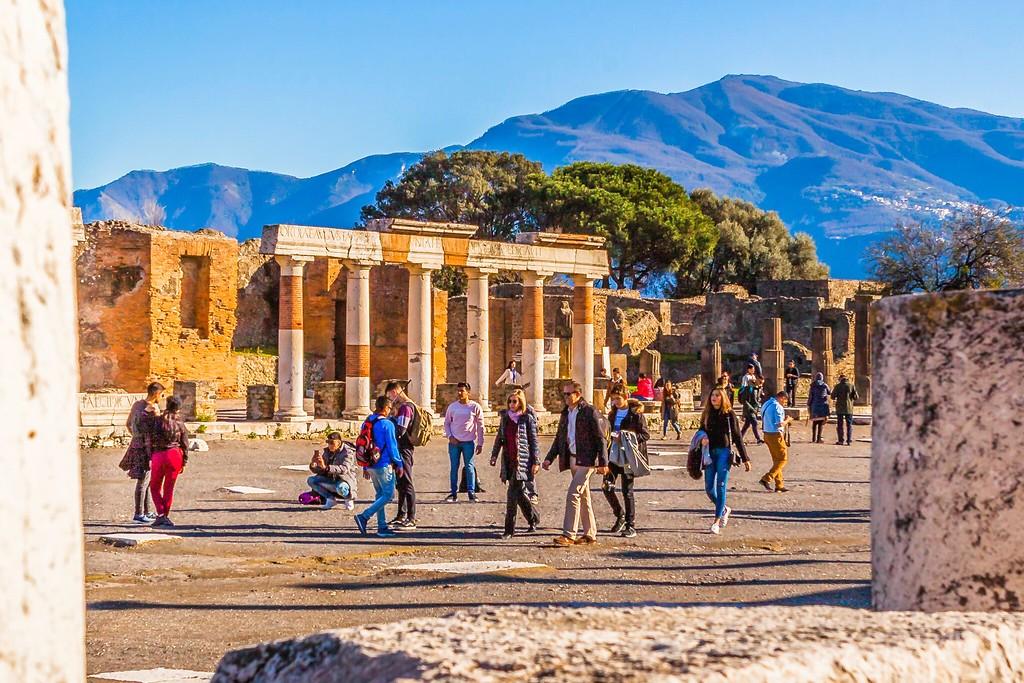 意大利一世纪古城庞贝,无声的述说_图1-11