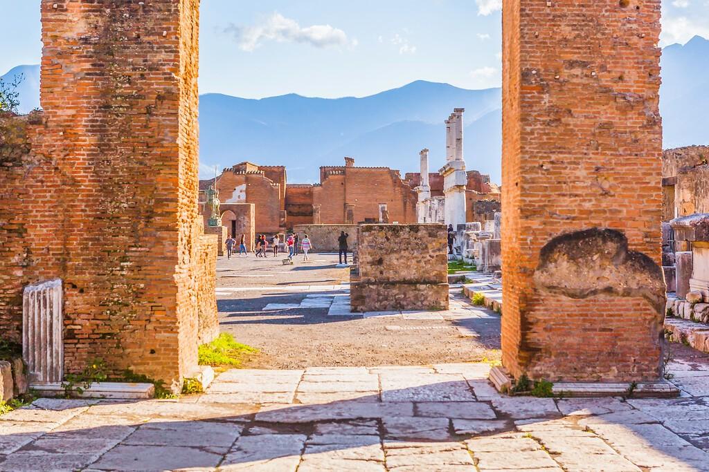 意大利一世纪古城庞贝,无声的述说_图1-12