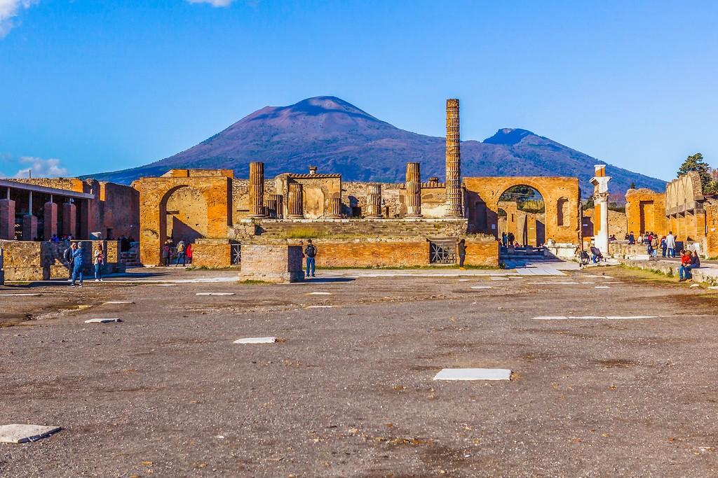 意大利一世纪古城庞贝,无声的述说_图1-15