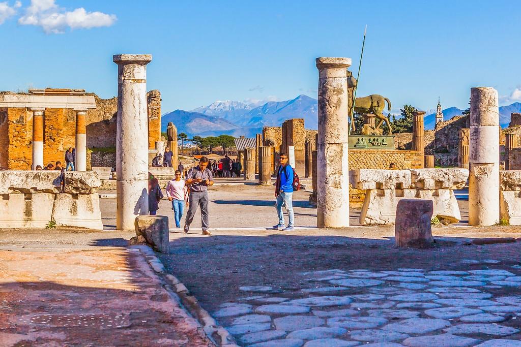 意大利一世纪古城庞贝,无声的述说_图1-17