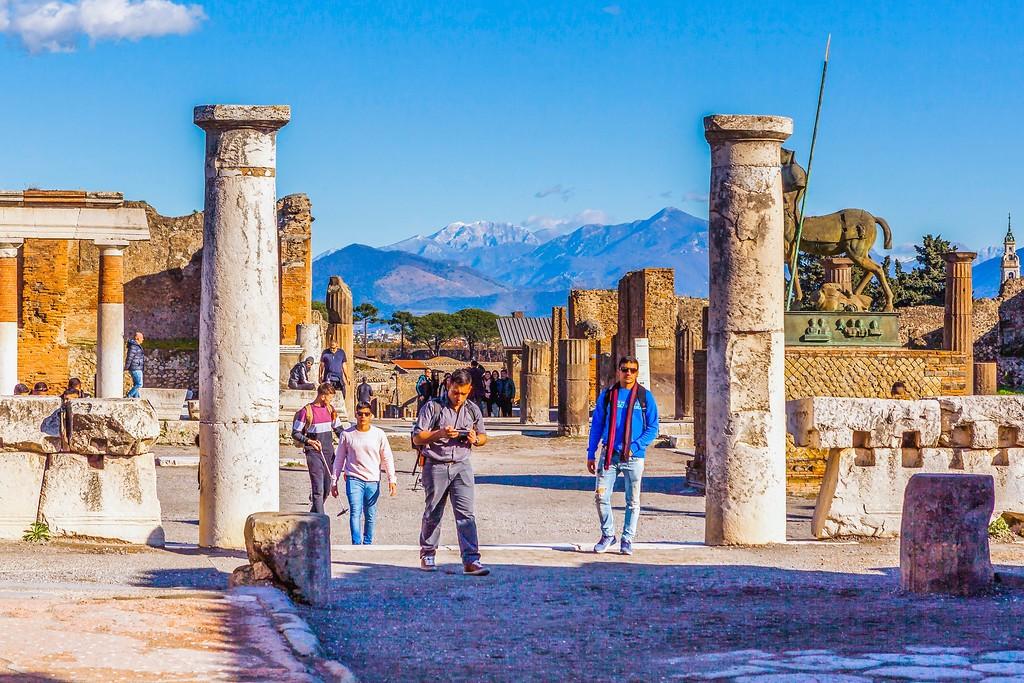 意大利一世纪古城庞贝,无声的述说_图1-14