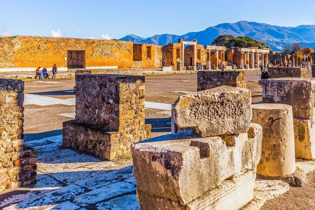 意大利一世纪古城庞贝,无声的述说_图1-13