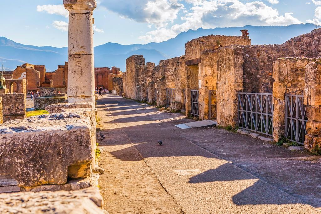 意大利一世纪古城庞贝,无声的述说_图1-16