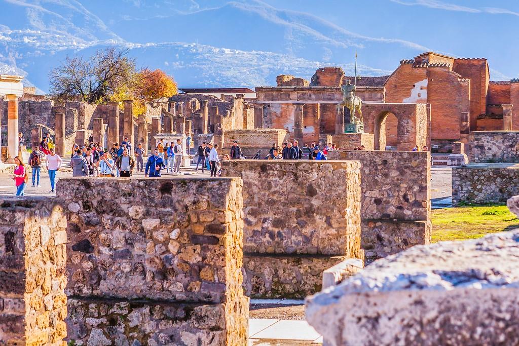 意大利一世纪古城庞贝,无声的述说_图1-18