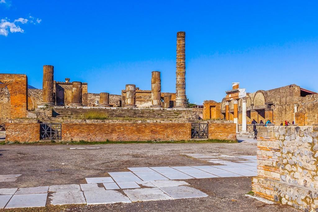意大利一世纪古城庞贝,无声的述说_图1-24