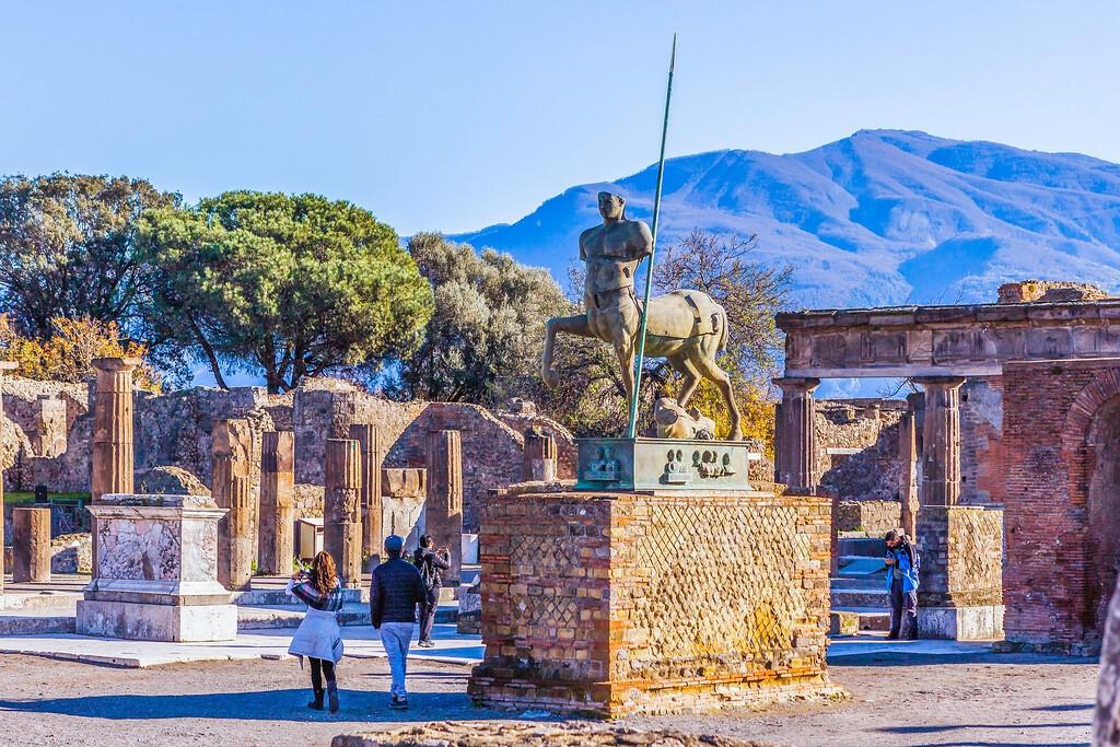 意大利一世纪古城庞贝,无声的述说_图1-20