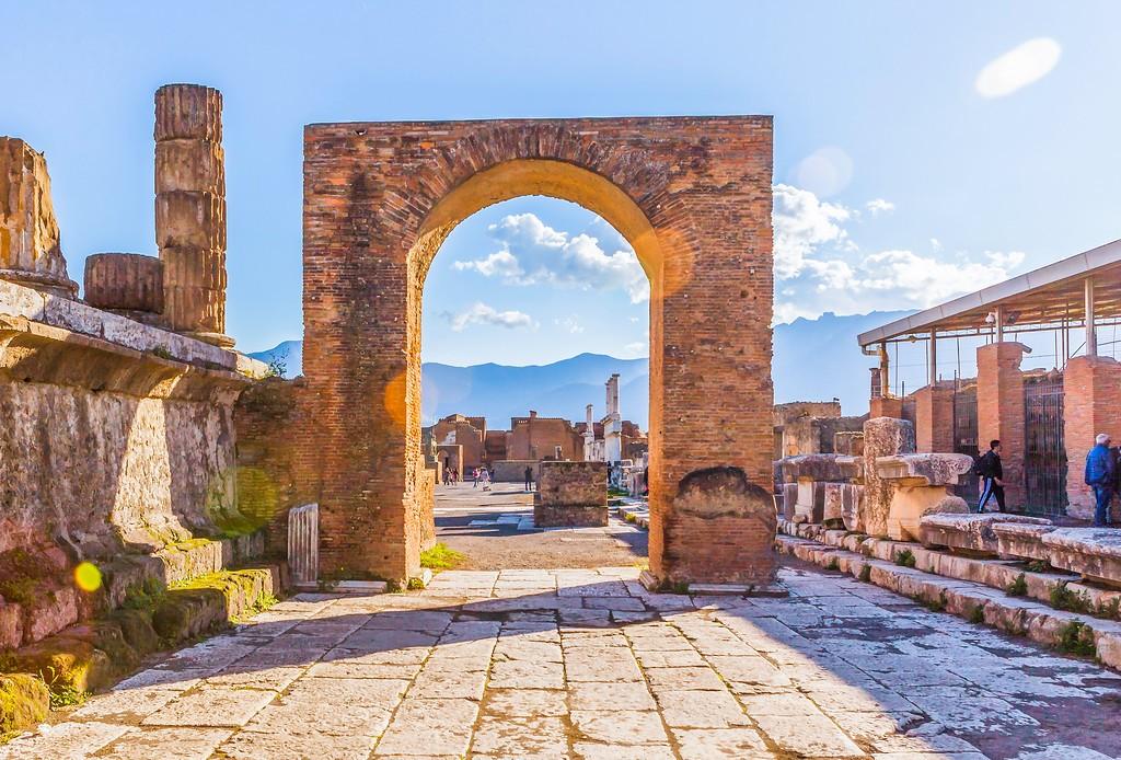 意大利一世纪古城庞贝,无声的述说_图1-23