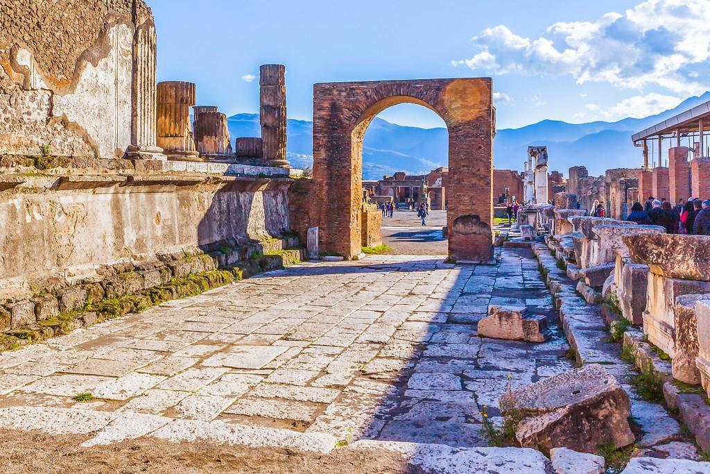 意大利一世纪古城庞贝,无声的述说_图1-22