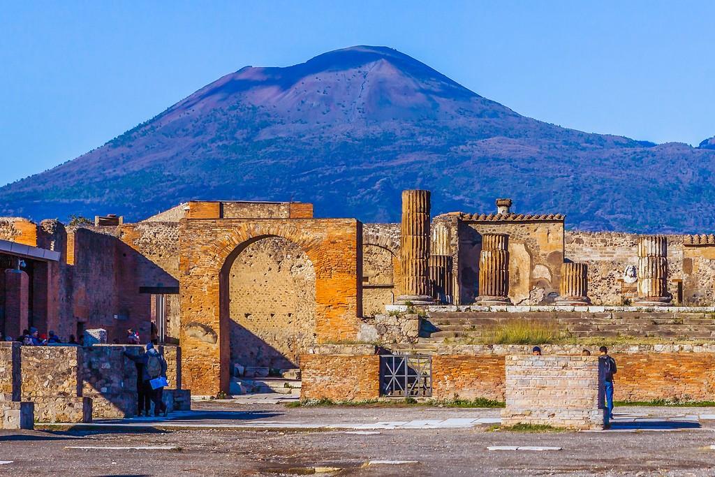 意大利一世纪古城庞贝,无声的述说_图1-21