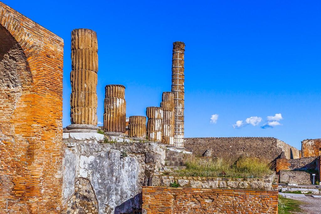 意大利一世纪古城庞贝,无声的述说_图1-26