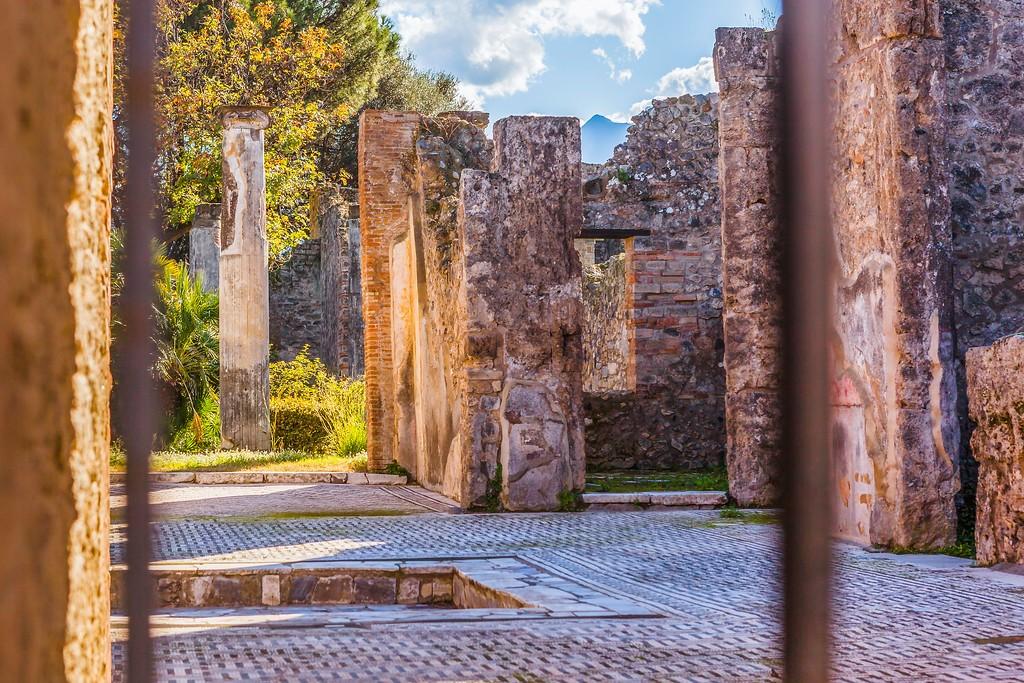 意大利一世纪古城庞贝,无声的述说_图1-27