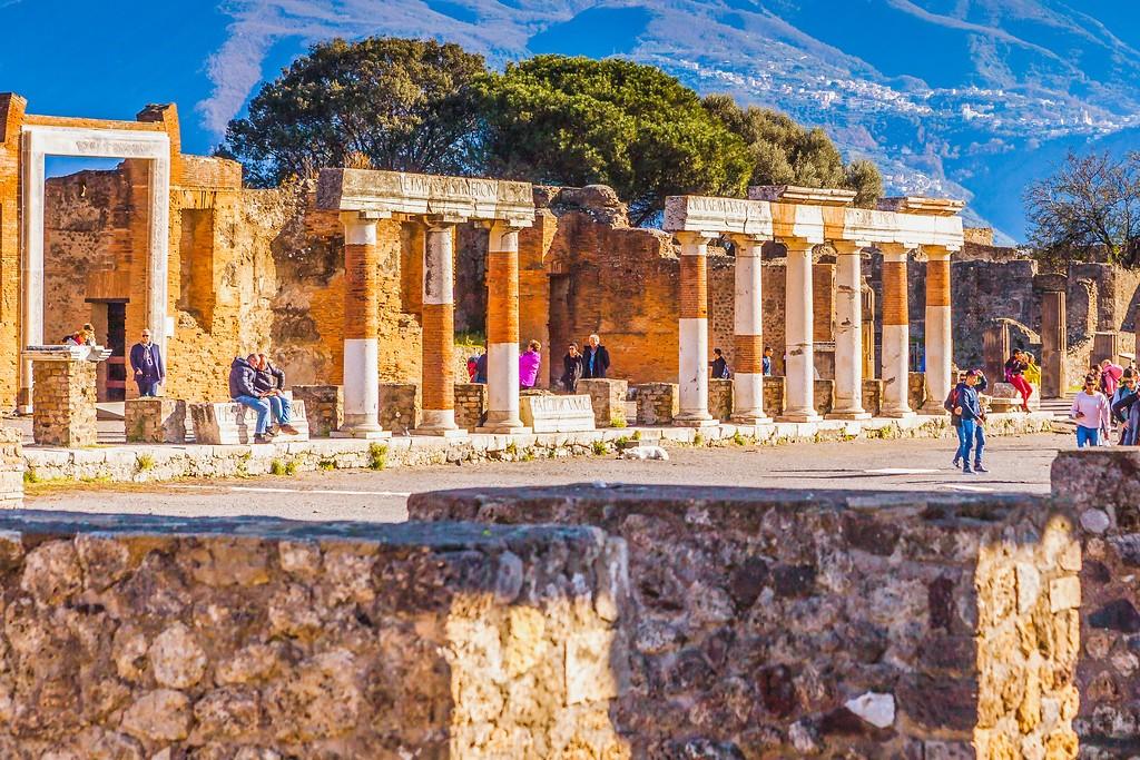 意大利一世纪古城庞贝,无声的述说_图1-28