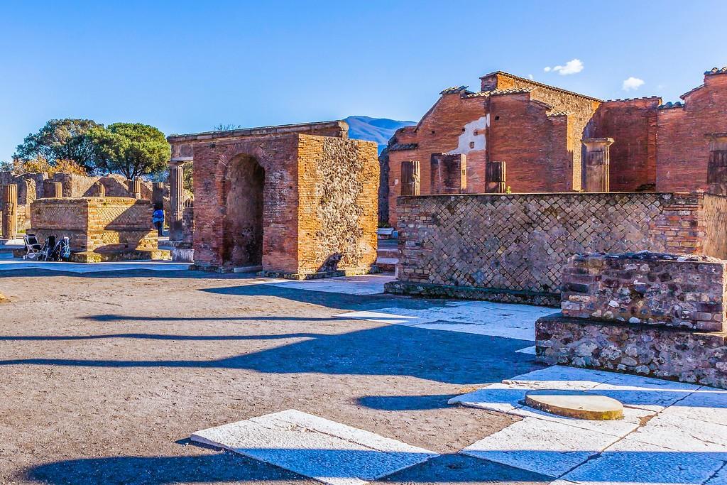 意大利一世纪古城庞贝,无声的述说_图1-29