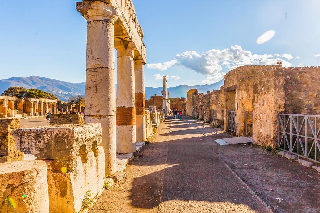意大利一世纪古城庞贝,无声的述说_图1-30