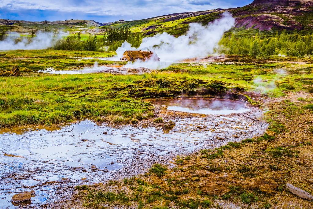 冰岛盖西尔(Geysir),热喷泉奇观_图1-34