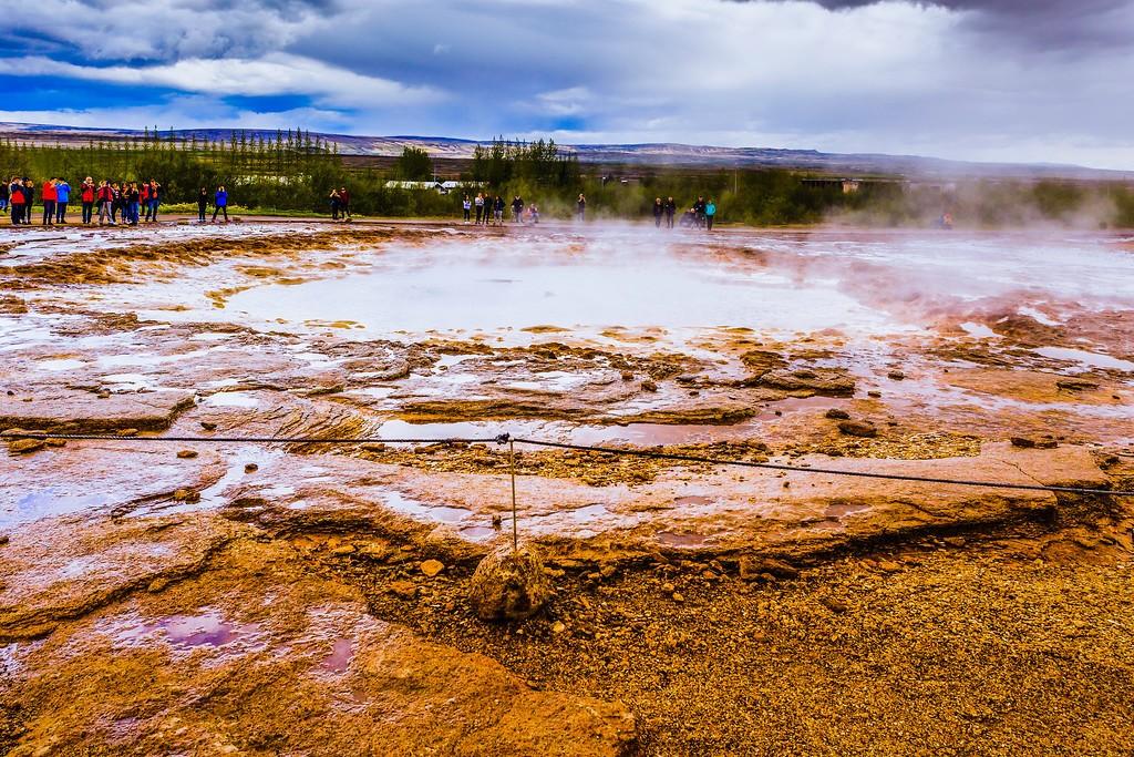 冰岛盖西尔(Geysir),热喷泉奇观_图1-33