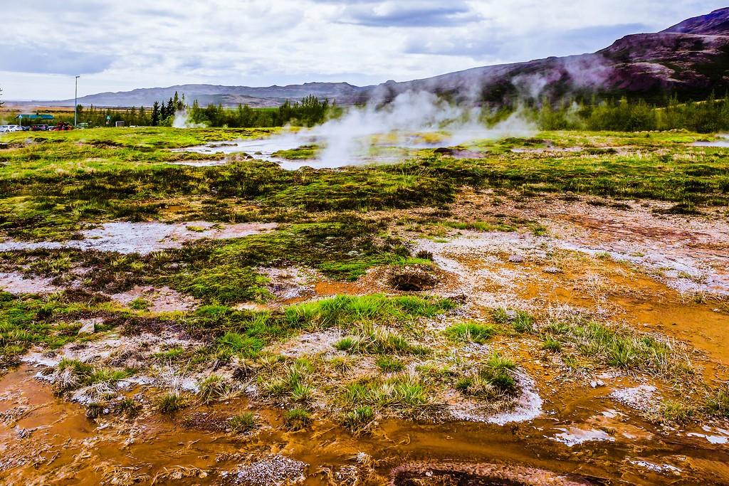 冰岛盖西尔(Geysir),热喷泉奇观_图1-35