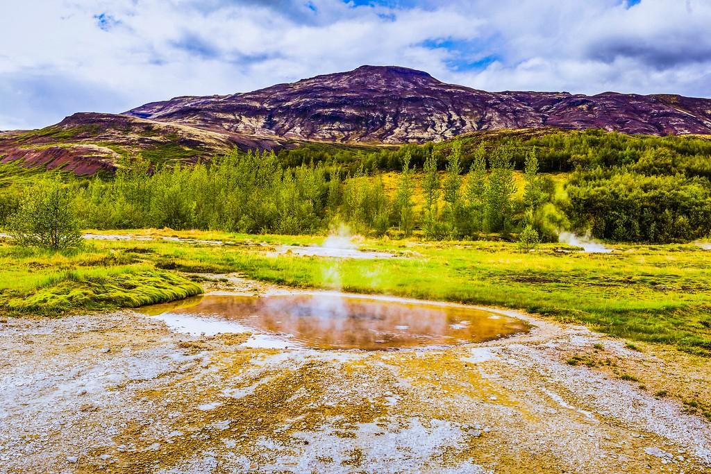 冰岛盖西尔(Geysir),热喷泉奇观_图1-27