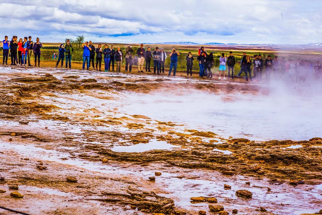 冰岛盖西尔(Geysir),热喷泉奇观_图1-25