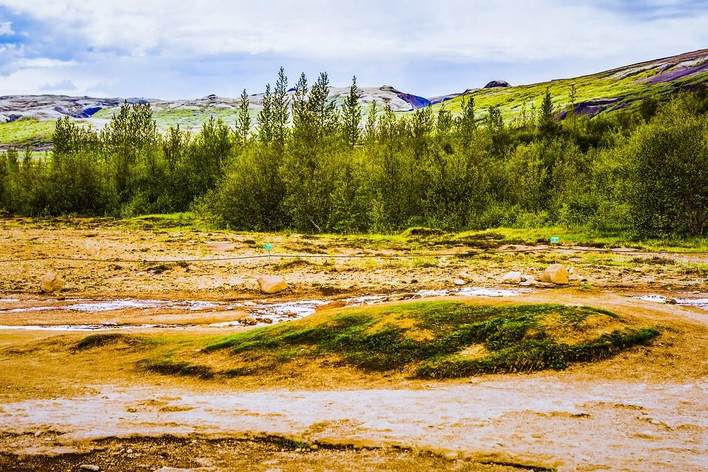 冰岛盖西尔(Geysir),热喷泉奇观_图1-24