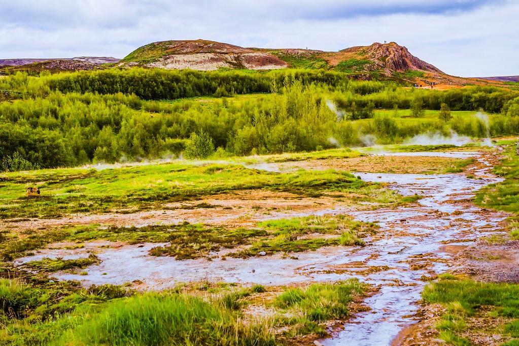 冰岛盖西尔(Geysir),热喷泉奇观_图1-23