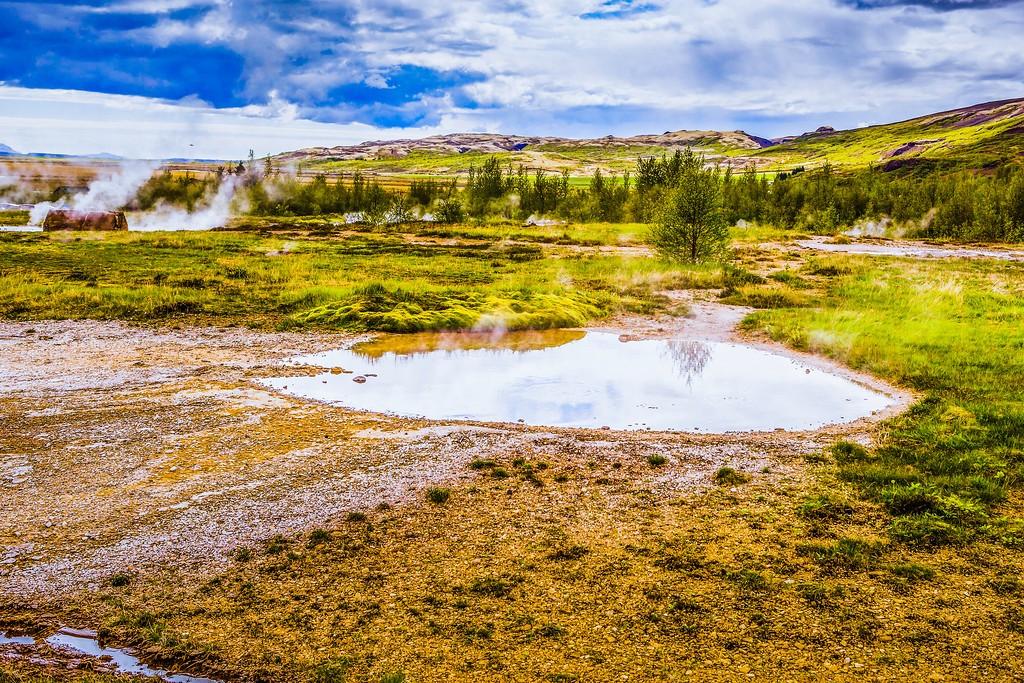 冰岛盖西尔(Geysir),热喷泉奇观_图1-22