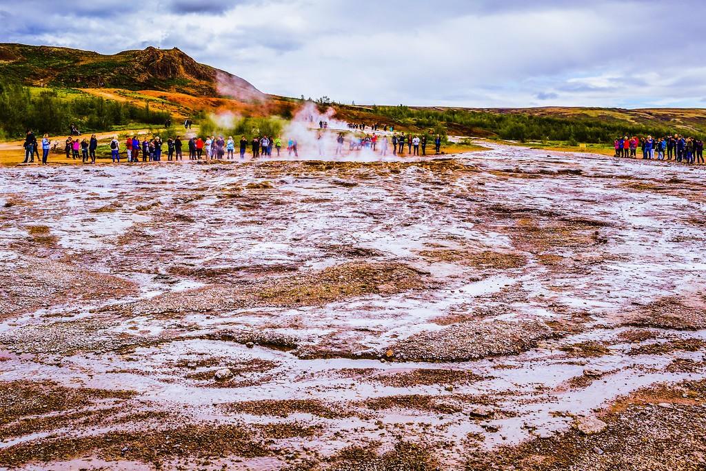 冰岛盖西尔(Geysir),热喷泉奇观_图1-21