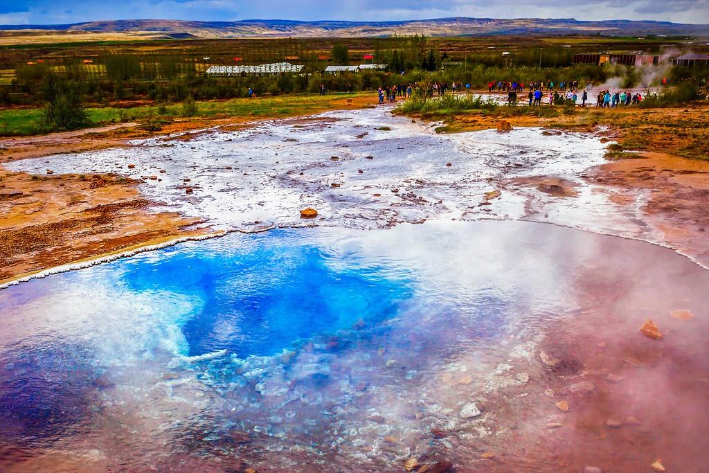 冰岛盖西尔(Geysir),热喷泉奇观_图1-17