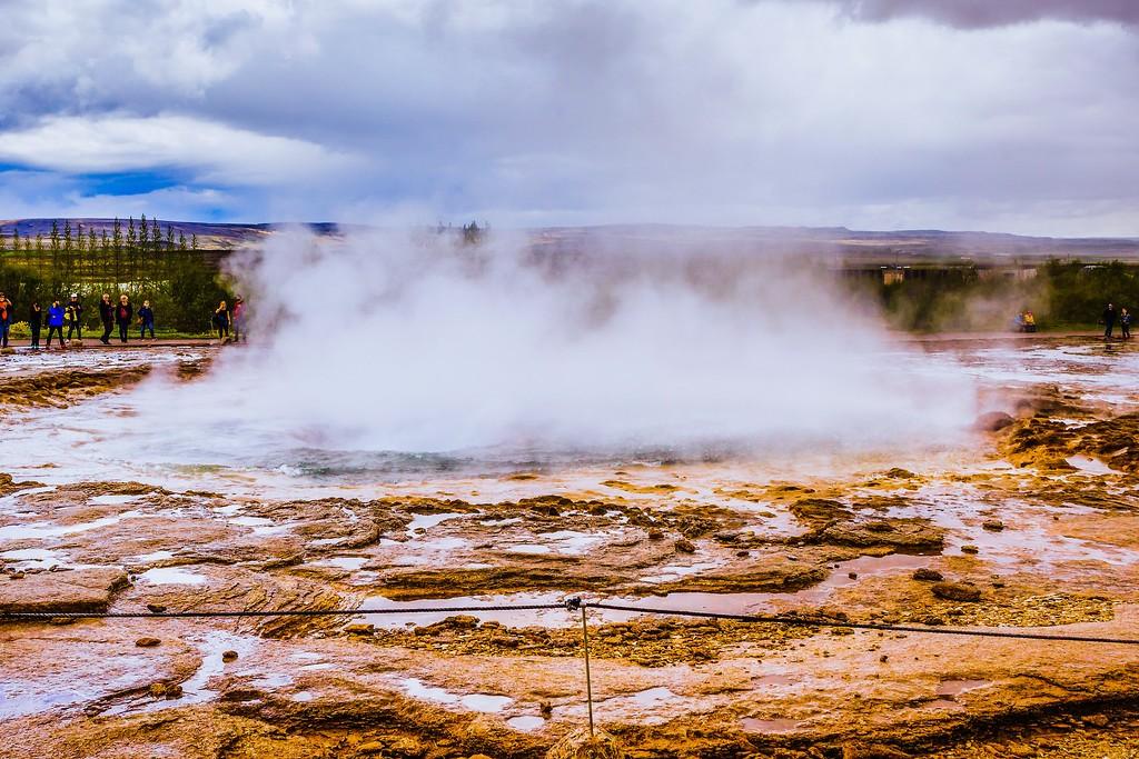 冰岛盖西尔(Geysir),热喷泉奇观_图1-19