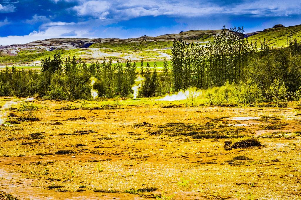 冰岛盖西尔(Geysir),热喷泉奇观_图1-16