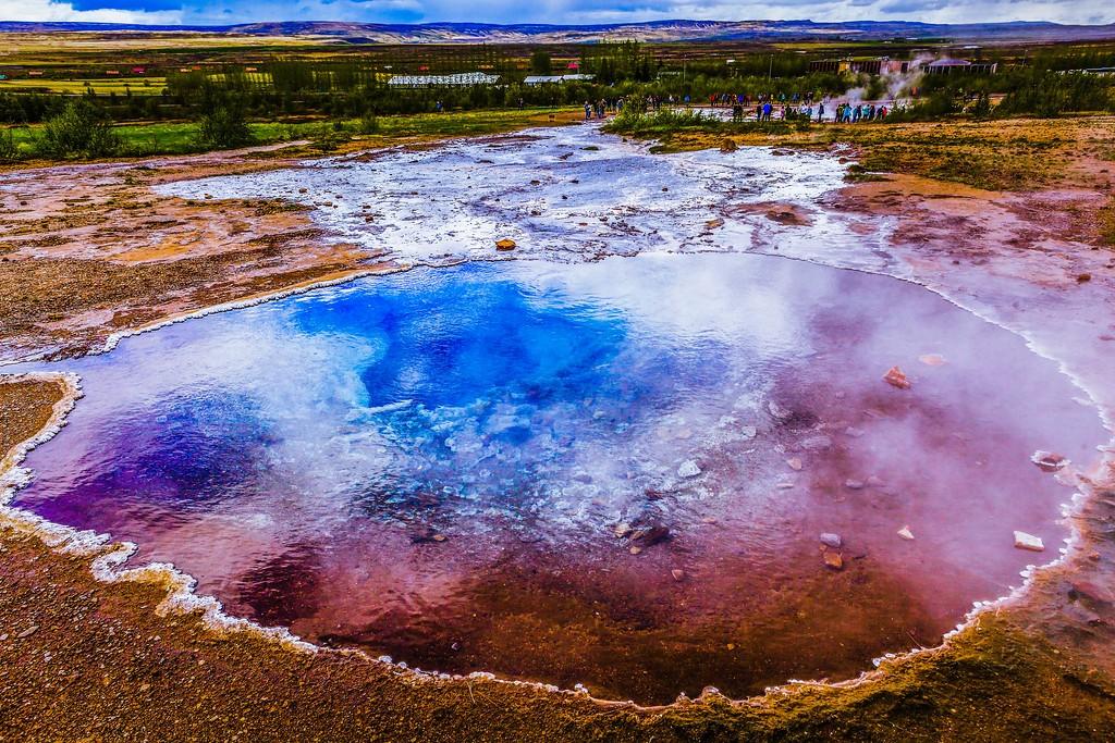 冰岛盖西尔(Geysir),热喷泉奇观_图1-15