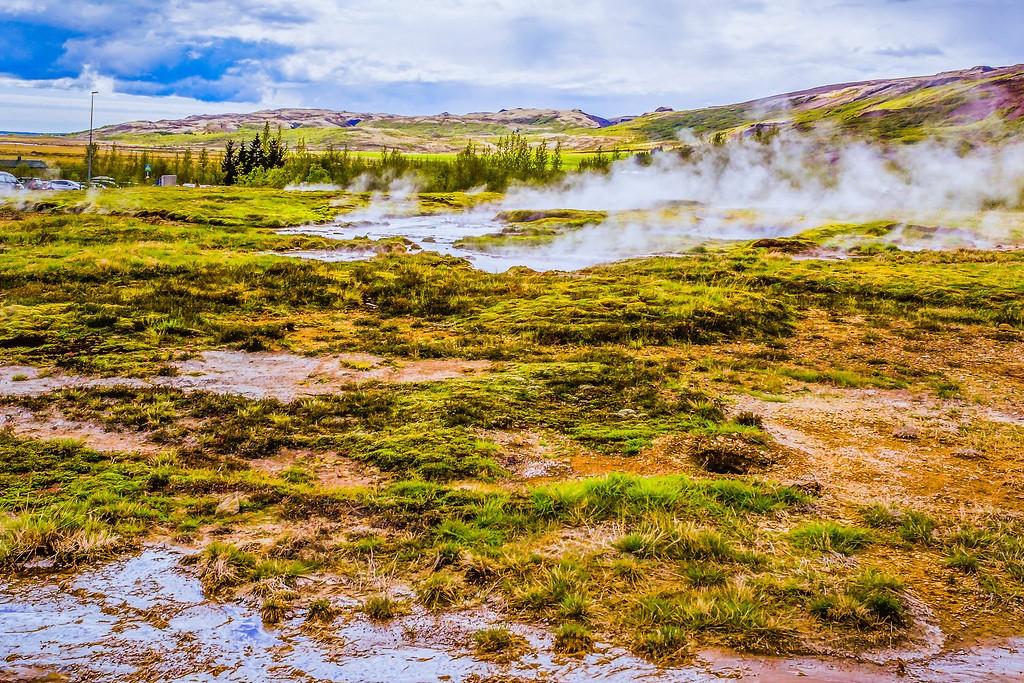 冰岛盖西尔(Geysir),热喷泉奇观_图1-14