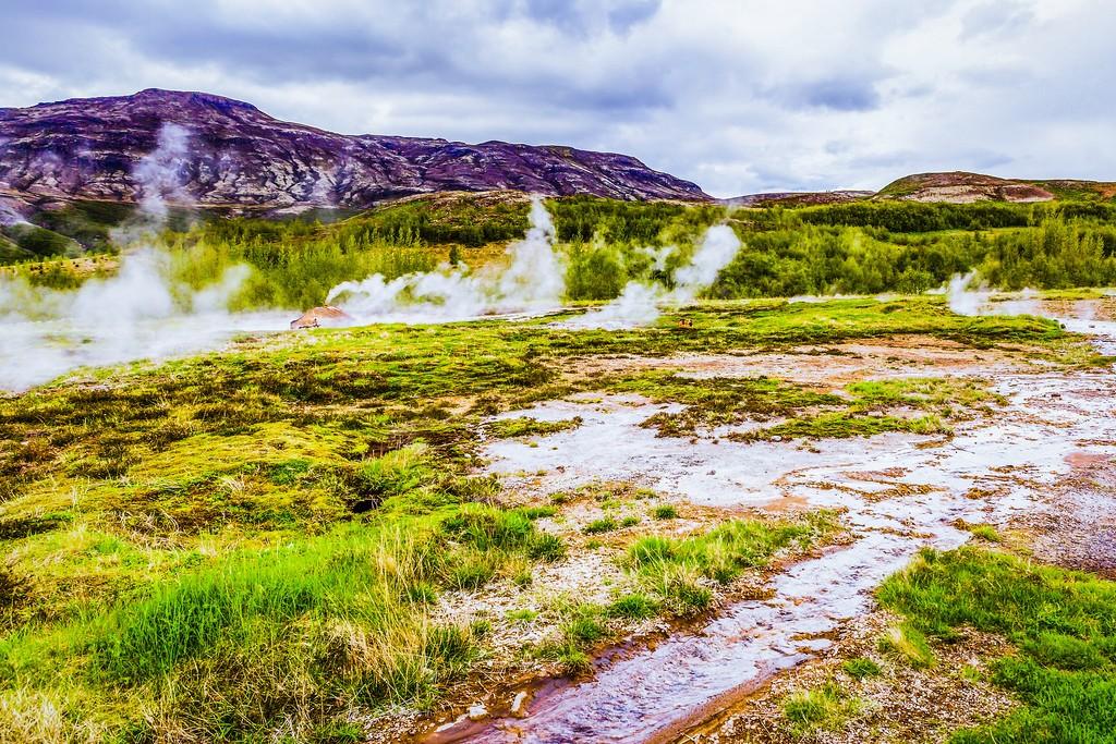 冰岛盖西尔(Geysir),热喷泉奇观_图1-10