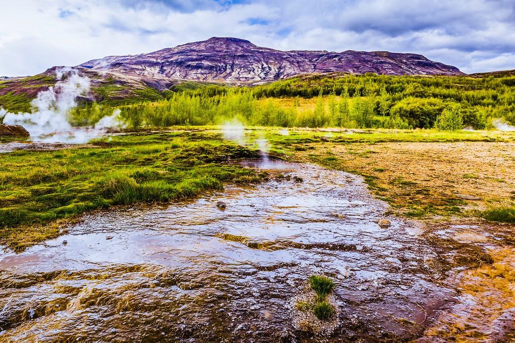 冰岛盖西尔(Geysir),热喷泉奇观_图1-11