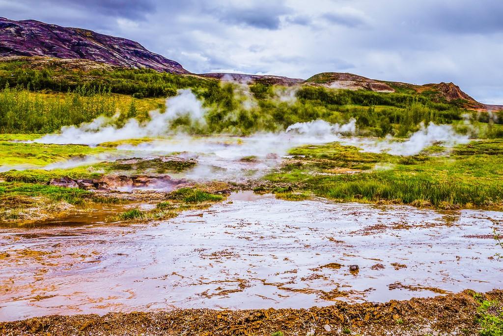 冰岛盖西尔(Geysir),热喷泉奇观_图1-12