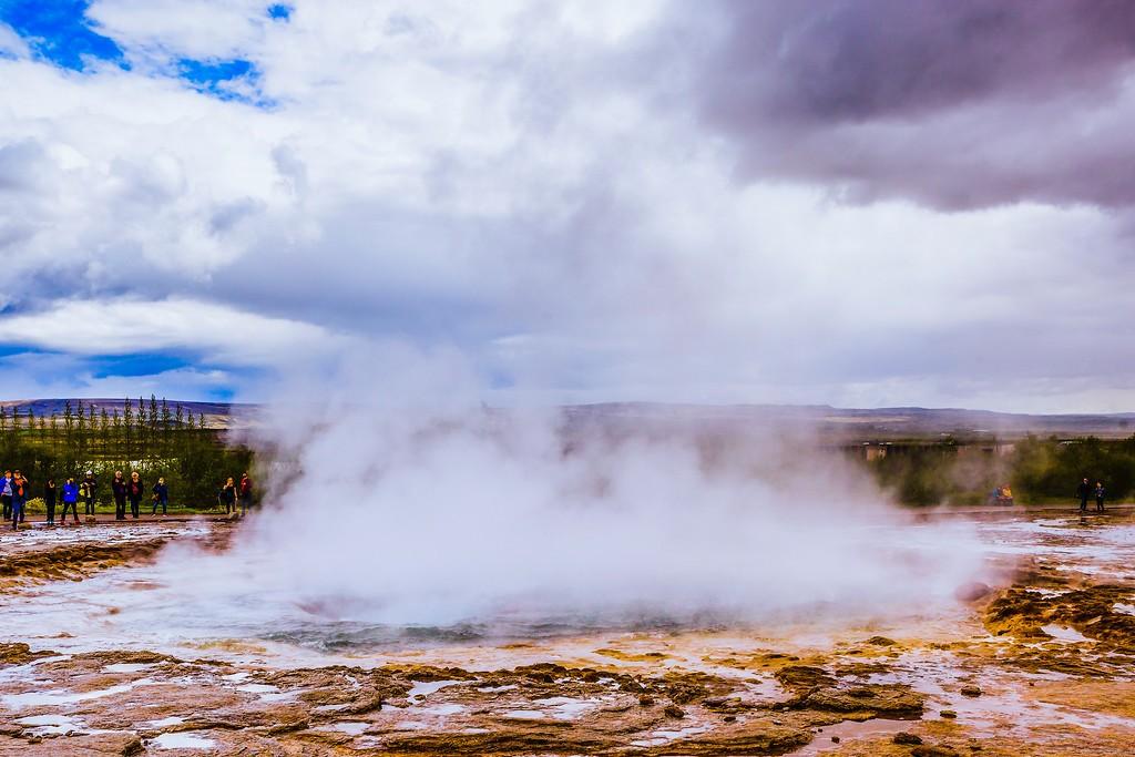 冰岛盖西尔(Geysir),热喷泉奇观_图1-1