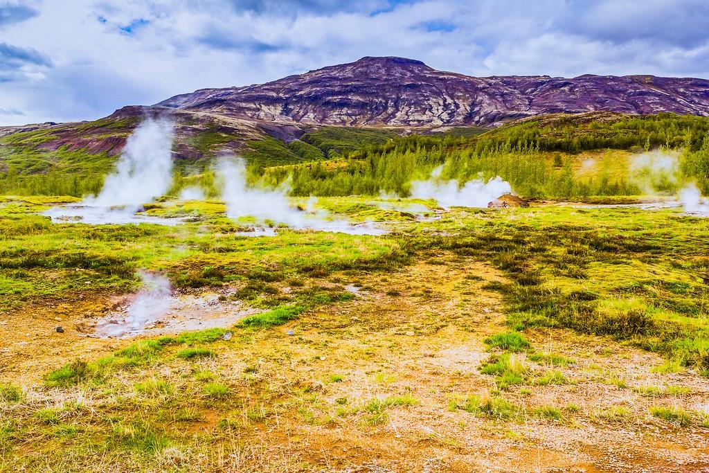 冰岛盖西尔(Geysir),热喷泉奇观_图1-2