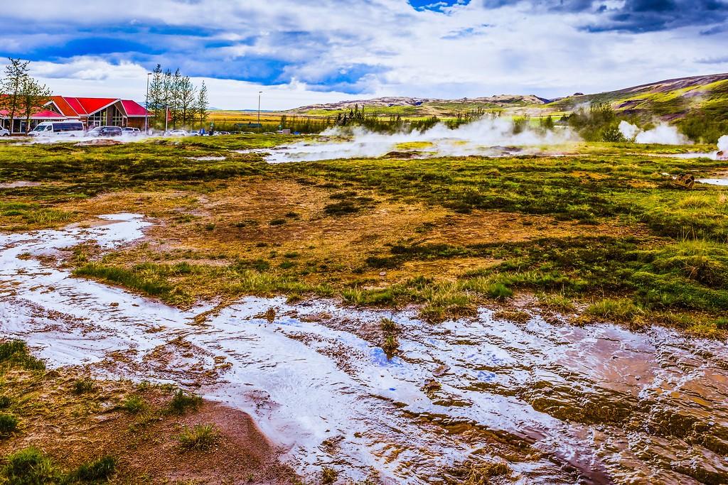 冰岛盖西尔(Geysir),热喷泉奇观_图1-8
