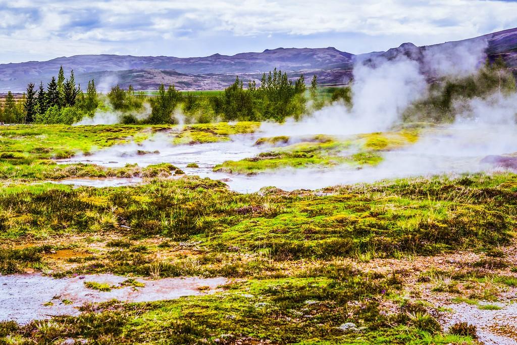 冰岛盖西尔(Geysir),热喷泉奇观_图1-6