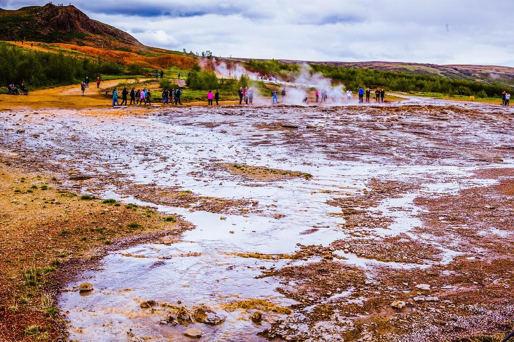 冰岛盖西尔(Geysir),热喷泉奇观_图1-7