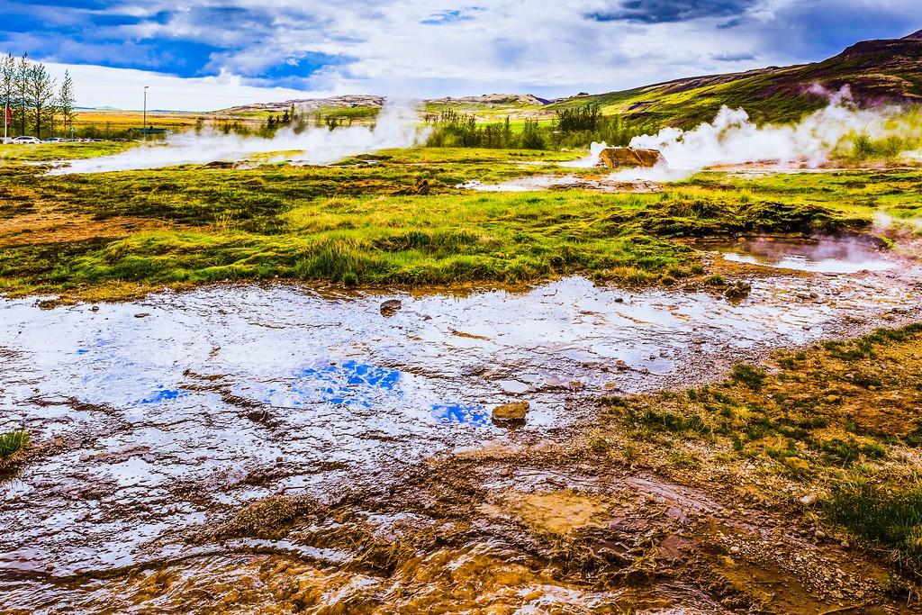 冰岛盖西尔(Geysir),热喷泉奇观_图1-4