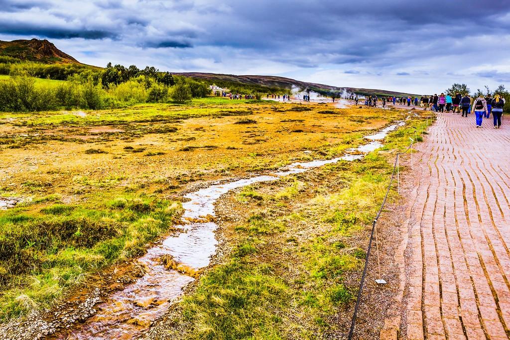 冰岛盖西尔(Geysir),热喷泉奇观_图1-5