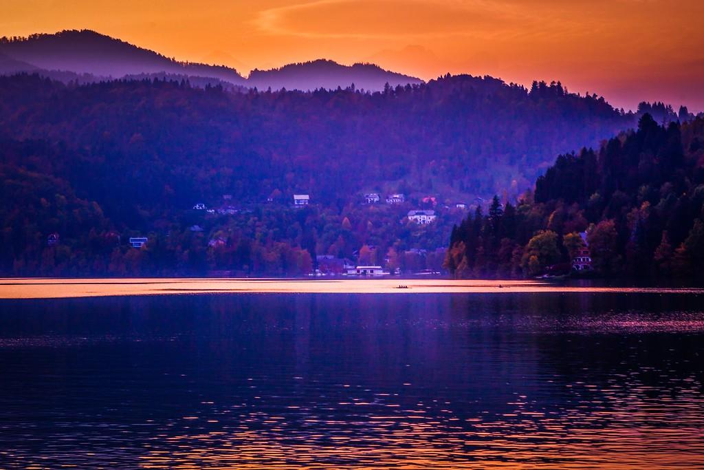 斯洛文尼亚布莱德湖(Lake Bled),迷人景色_图1-10